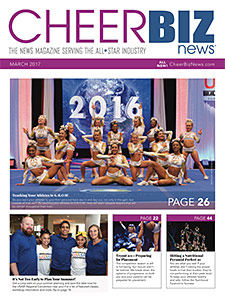 CheerBIZ News March 2017 Issue