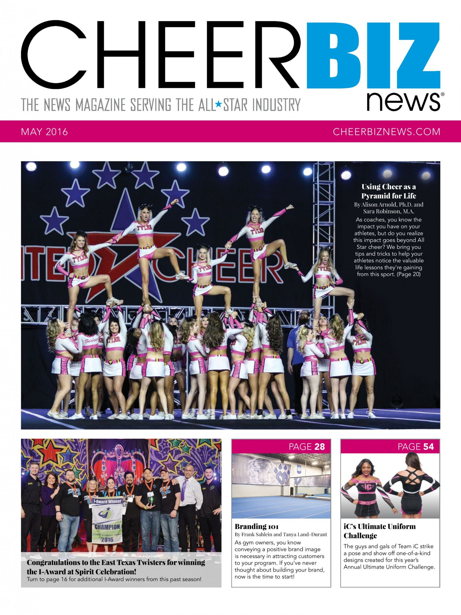 CheerBIZ News November 2016 Issue