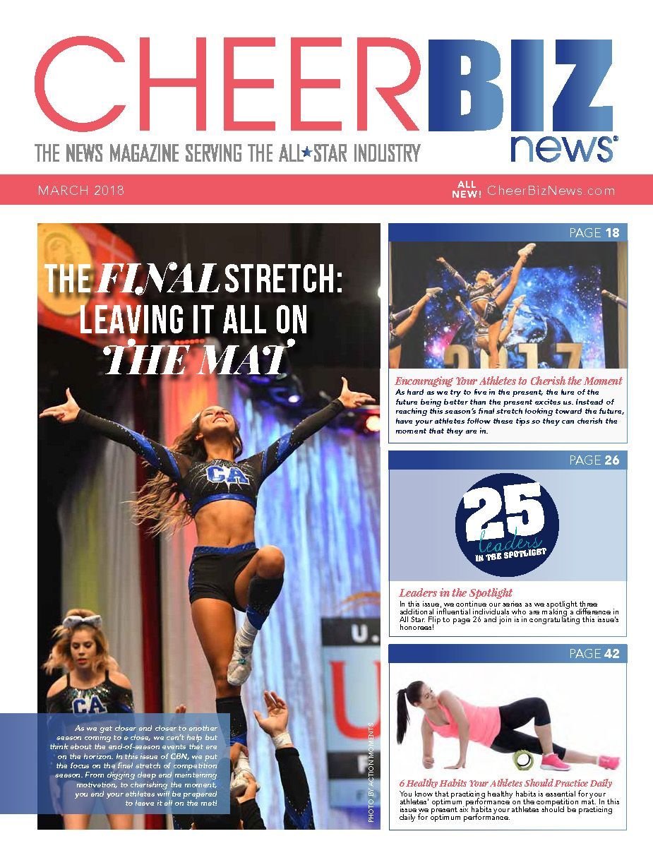 CheerBIZ News March 2018 Issue